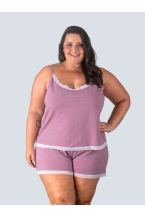 pijama plus size satia frente