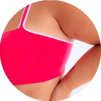 libertari lingerie plus size lateral pink