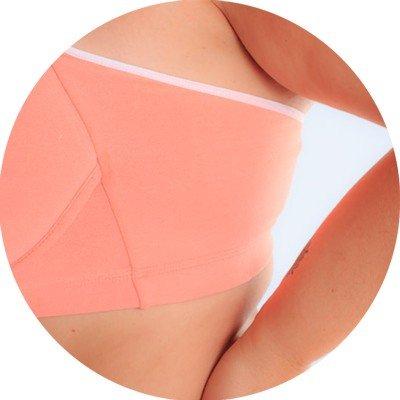 libertari lingerie plus size lateral coral